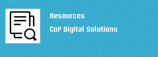 CoP Digital Solutions Resources
