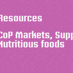 Resources - CoP markets