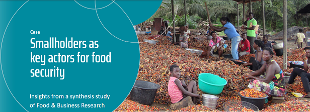 Smallholder agriculture: Research-based opportunities for improved food and nutrition security