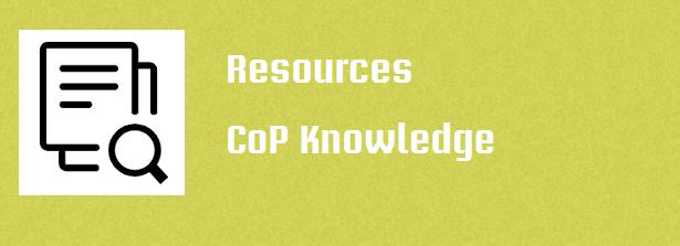 Resources CoP Knowledge