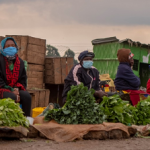 Social distancing in the market - COVID-19 country assessment Kenya