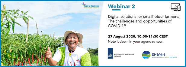 Second webinar CoP Digital Solutions on opportunities in response to COVID-19