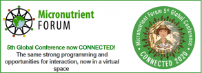5th Global Micronutrient Forum Connected - November 9-13, 2020