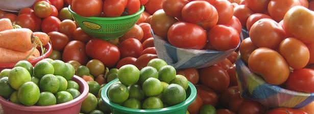 Fruits & vegetables market Ecuador